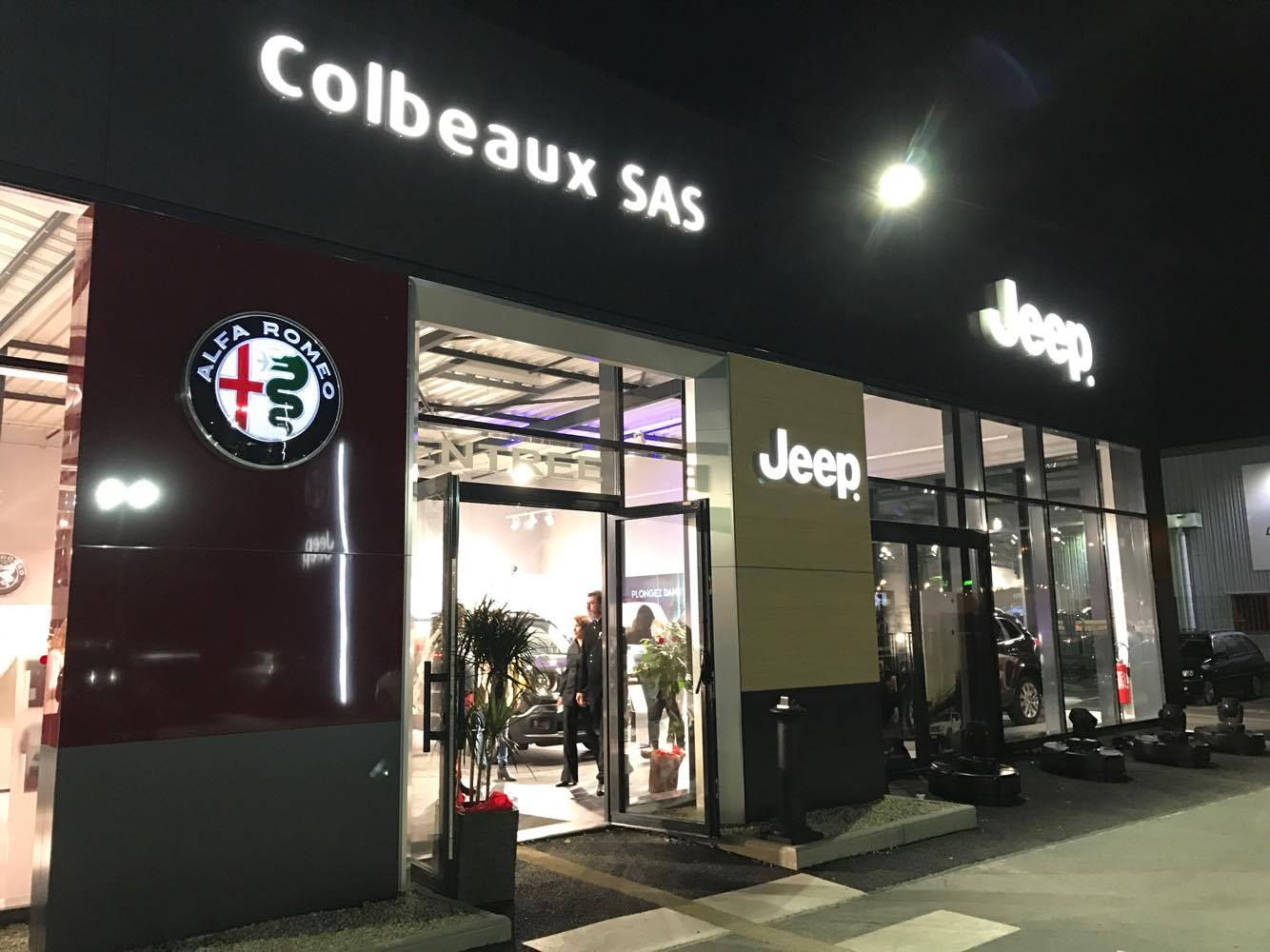 Inauguration concession Alfa Romeo & Jeep à Saint-Quentin
