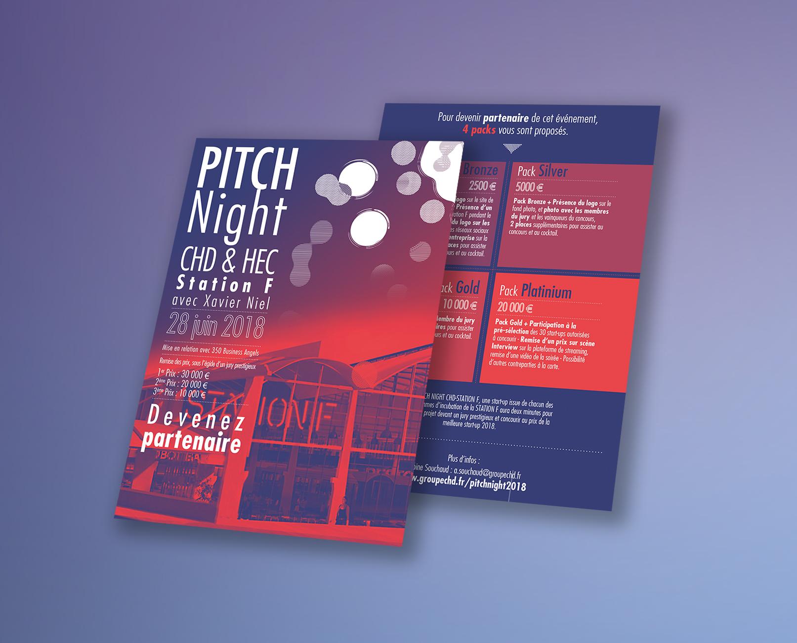 CHD Pitch Night