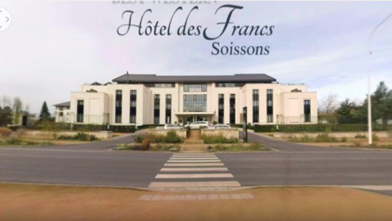 Vidéo 360 degrés – Hôtel des Francs à Soissons