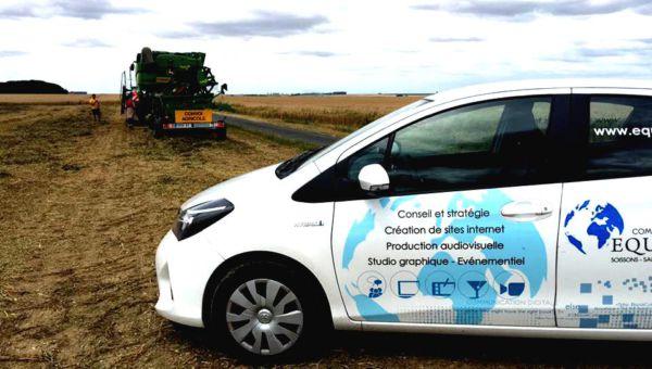 L'agence de communication Equinoxes de Saint-Quentin réalise un film sur le monde agricole