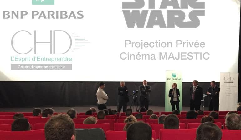 soirée événementielle Star Wars